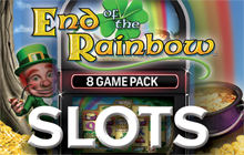 IGT Slots End of the Rainbow 8-Pack Badge