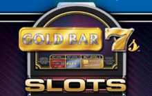 IGT Slots Gold Bar 7s Badge