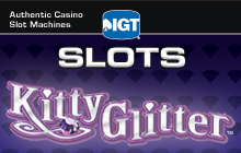 IGT Slots Kitty Glitter Badge