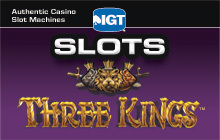 IGT Slots Three Kings Badge