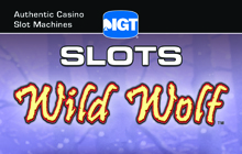 IGT Slots Wild Wolf Badge