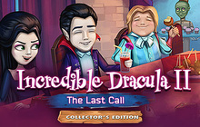 Incredible Dracula: The Last Call Collector's Edition Badge