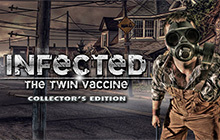 Infected: The Twin Vaccine Collector's Edition Badge