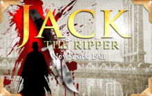 Jack The Ripper - New York 1901 Badge