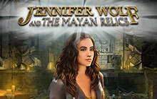 Jennifer Wolf and The Mayan Relics Badge