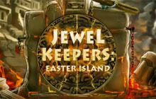 Jewel Keepers: Easter Island Badge