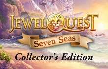 Jewel Quest Seven Seas Collector's Edition Badge
