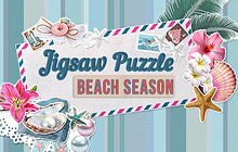 Jigsaw Puzzle Beach Season Badge