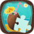 Jigsaw Puzzle Beach Season Icon