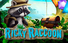 Ricky Raccoon Badge