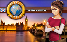 Julia's Quest: United Kingdom Badge