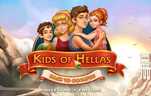 Kids of Hellas: Back to Olympus Collector's Edition Badge