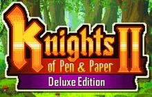 Knights of Pen and Paper 2: Deluxiest Edition Badge
