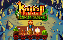 Knights of Pen and Paper 2 - Here Be Dragons Badge