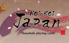 Koi-Koi Japan [Hanafuda playing cards] Badge