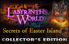 Labyrinths of the World: Secrets of Easter Island Collector's Edition Badge