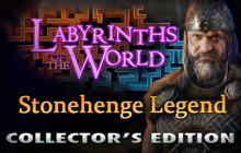 Labyrinths of the World: Stonehenge Legend Collector's Edition Badge