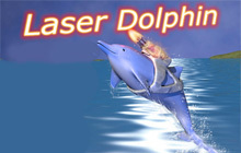 Laser Dolphin Badge