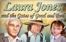 Laura Jones and the Gates of Good and Evil Badge