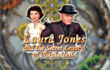 Laura Jones and the Secret Legacy of Nikola Tesla Badge