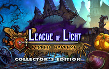 League of Light: Wicked Harvest Collector's Edition Badge