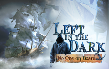 Left in the Dark: No One on Board Badge