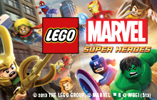 LEGO Marvel Super Heroes Badge