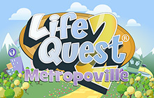 Life Quest 2: Metropoville Badge