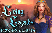 Living Legends: Frozen Beauty Badge