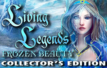 Living Legends: Frozen Beauty Collector's Edition Badge
