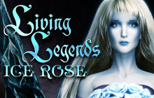 Living Legends: Ice Rose Badge