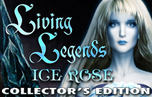 Living Legends: Ice Rose Collector's Edition Badge