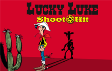 Lucky Luke Shoot & Hit Badge