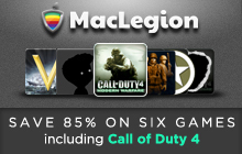 MacLegion Game Bundle 2012 Badge