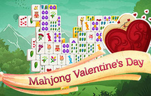 Mahjong Valentines Day Badge