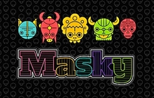 Masky Badge