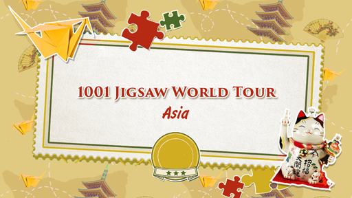 1001 Jigsaw World Tour - Asia