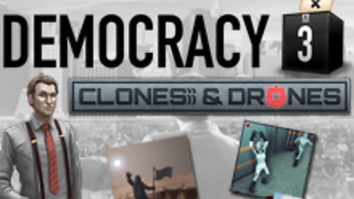Democracy 3: Clones & Drones DLC