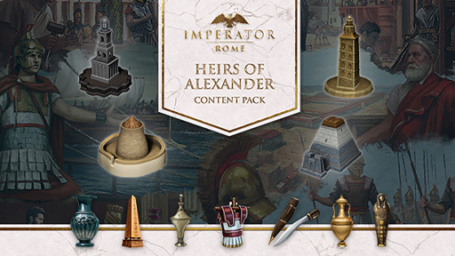 Imperator: Rome - Heirs of Alexander Content Pack
