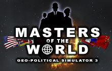 Masters of the World - Geopolitical Simulator 3 Badge