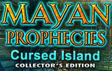 Mayan Prophecies: Cursed Island Collector's Edition Badge