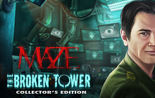 Maze: The Broken Tower Collector's Edition Badge