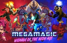 Megamagic: Wizards of the Neon Age Badge