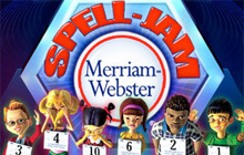 Merriam Webster Spell-Jam Badge