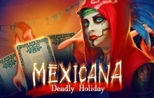 Mexicana: Deadly Holiday Badge