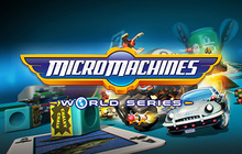 Micro Machines World Series Badge