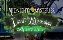 Midnight Mysteries: Devil on the Mississippi Collector's Edition Badge