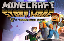 Minecraft: Story Mode - A Telltale Games Series Badge
