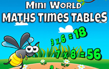 Mini World Maths Times Tables Badge