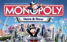 Monopoly Here & Now Badge